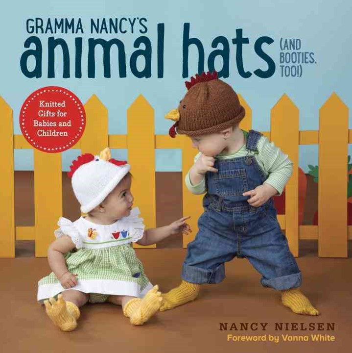 Gramma Nancy's Animal Hats (And Booties, Too!)