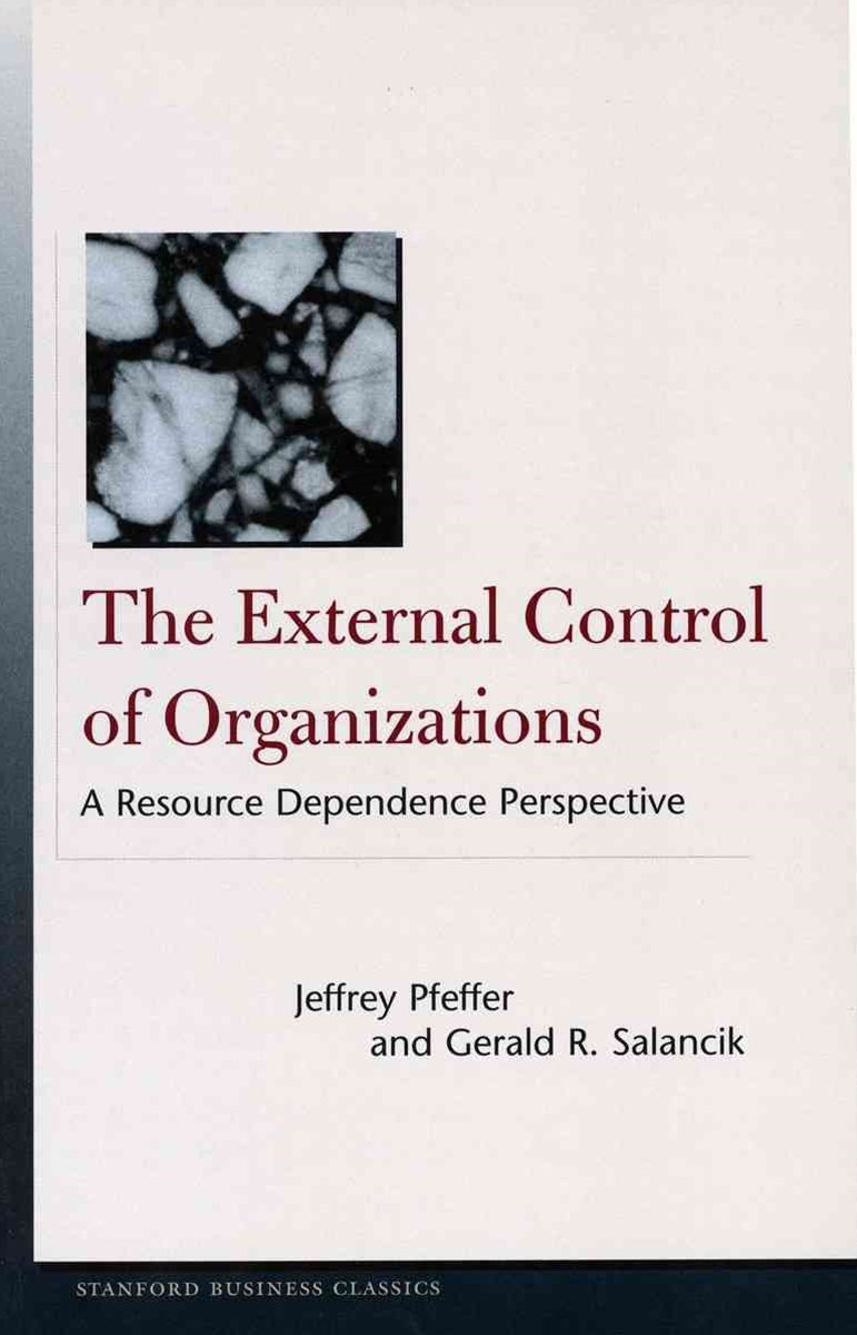The External Control of Organizations