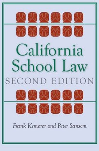 (ebook) California School Law - Reference Law
