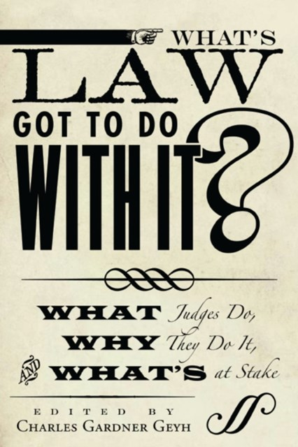 (ebook) What's Law Got to Do With It?