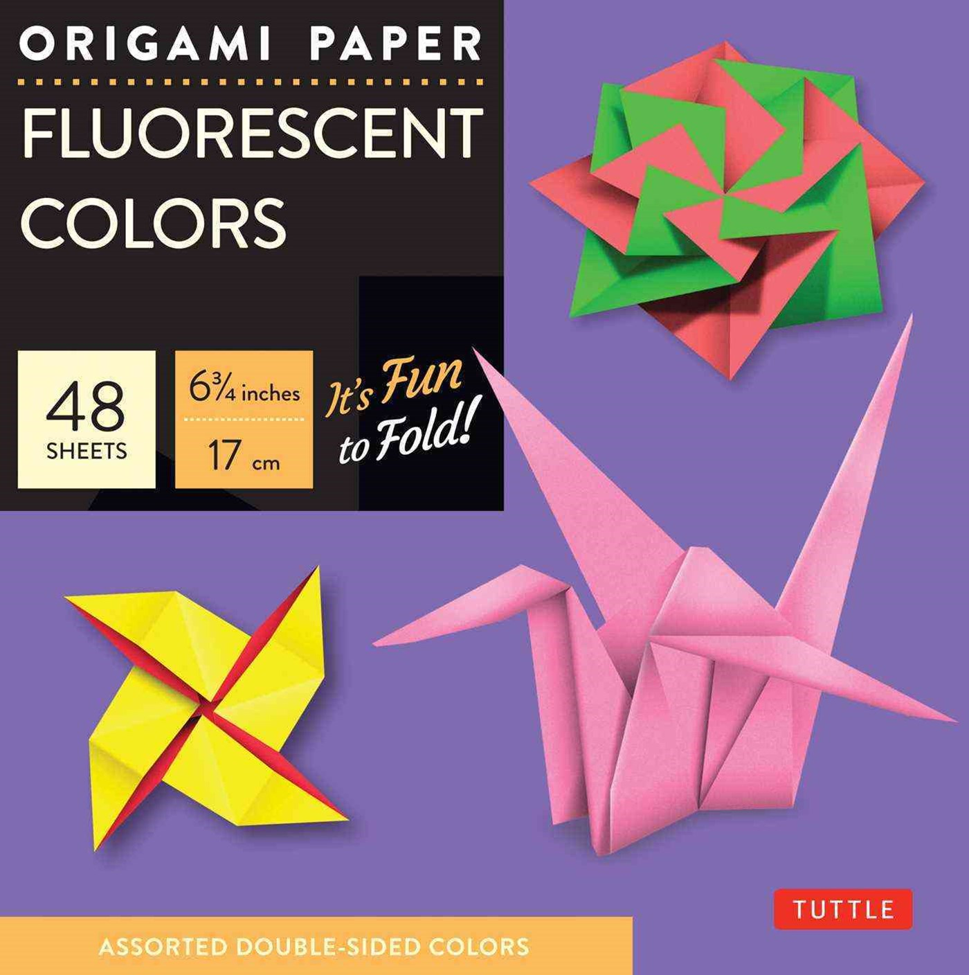 Origami Paper Fluorescent Colors