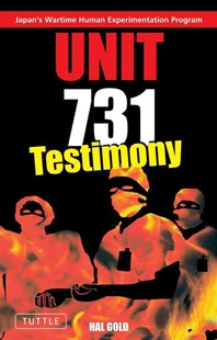 Unit 731 by Hal Gold (9780804835657) - PaperBack - History