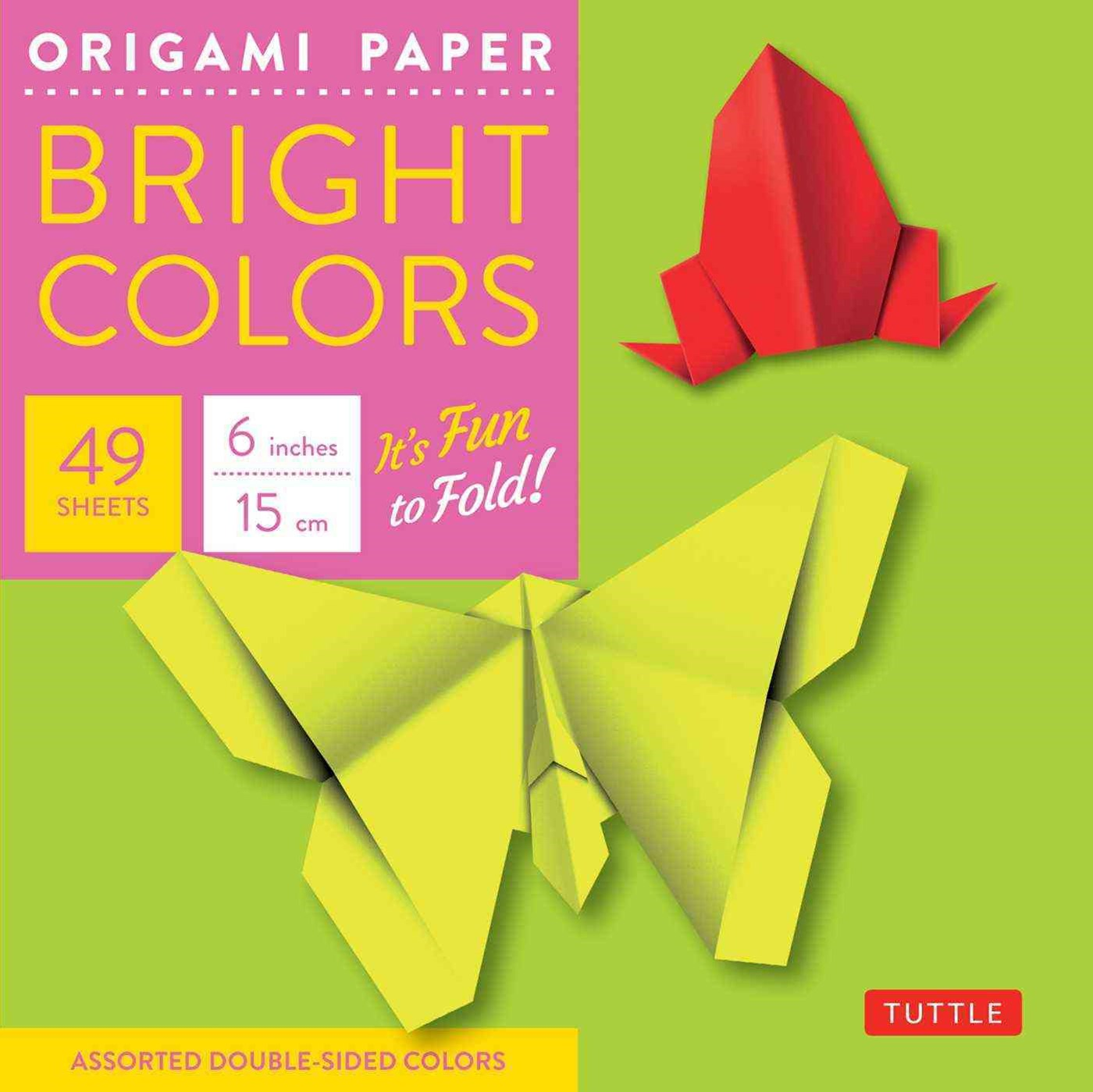 Origami Paper Bright 6 49 Sheets