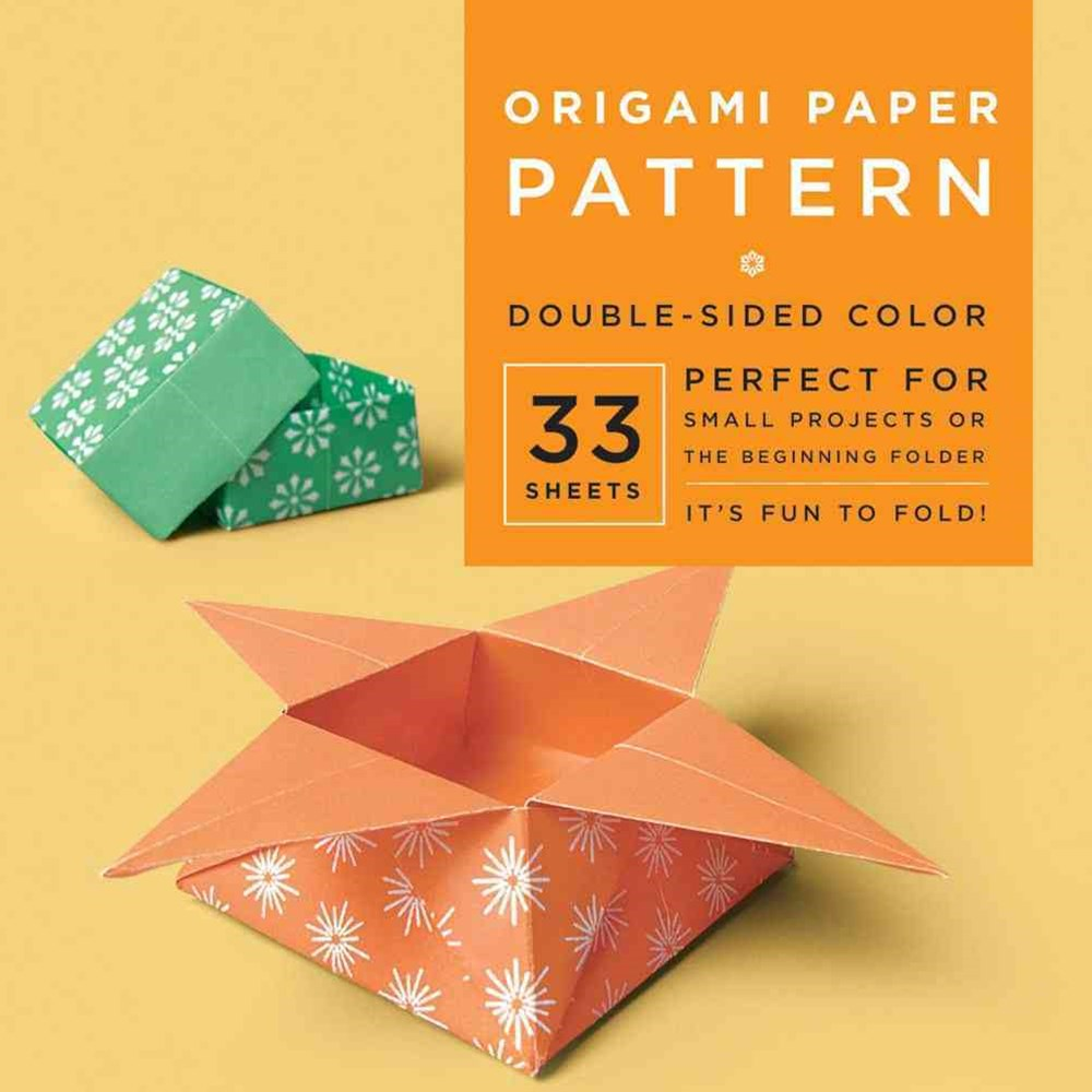 Origami Paper - Pattern - 6 3/4&quote; - 33 Sheets