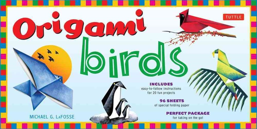 Origami Birds Folded Kit
