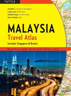 Malaysia Travel Atlas by Periplus Editors (9780804841924) - PaperBack - Reference Atlases