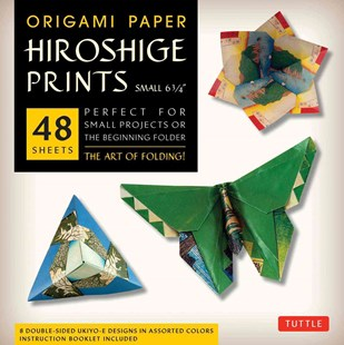Origami Paper Hiroshige Prints Small 6 3/4 by Tuttle Publishing (9780804844543) - PaperBack - Art & Architecture General Art