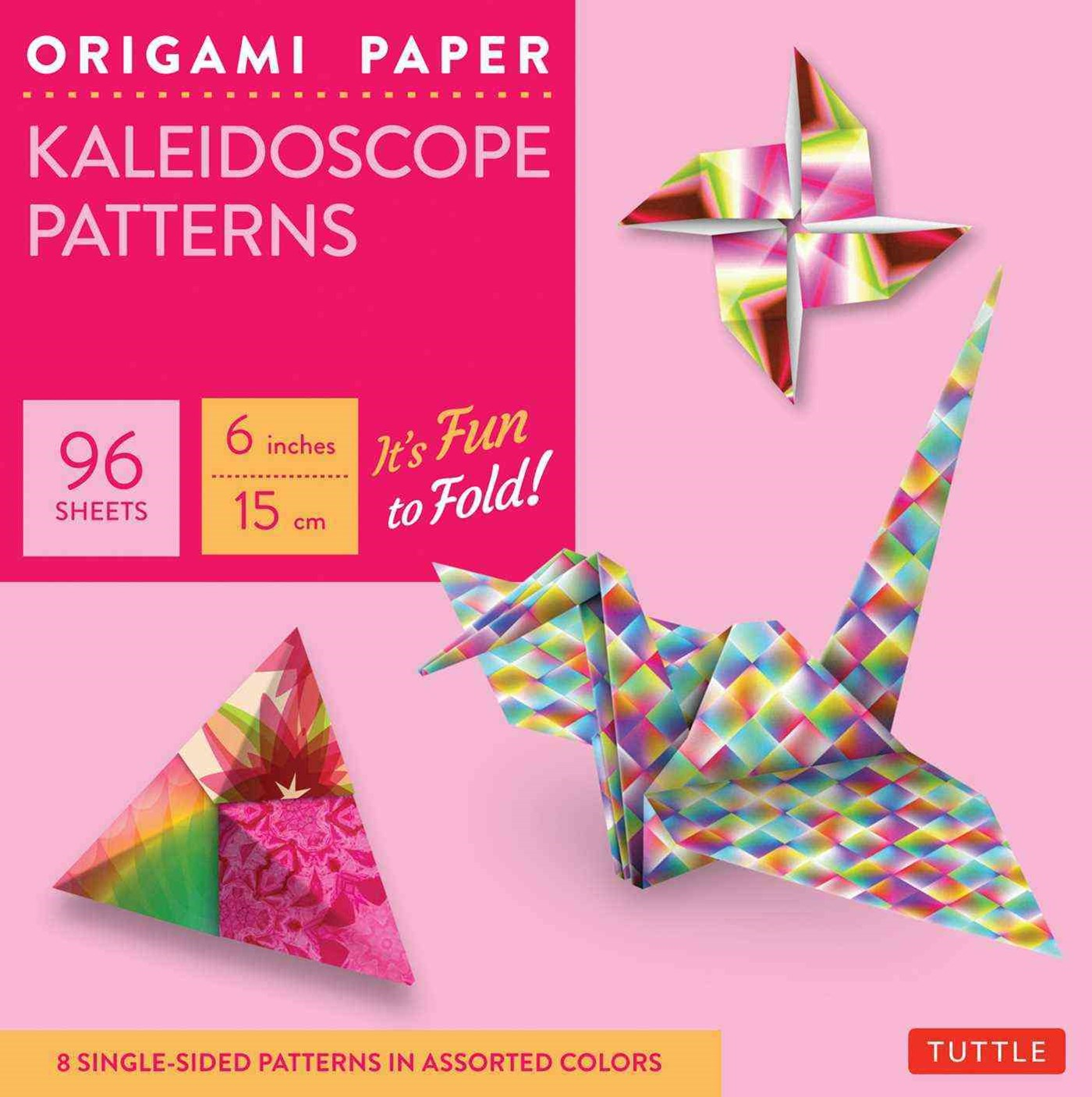 Origami Paper: Kaleidoscope Patterns