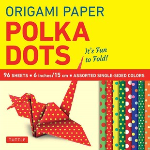 Origami Paper Polka Dots by Tuttle Publishing (9780804846233) - PaperBack - Craft & Hobbies Papercraft