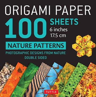 "Origami Paper 200 Sheets Nature Patterns 6"" (15 CM) by Tuttle Publishing (9780804848619) - PaperBack - Craft & Hobbies Papercraft"