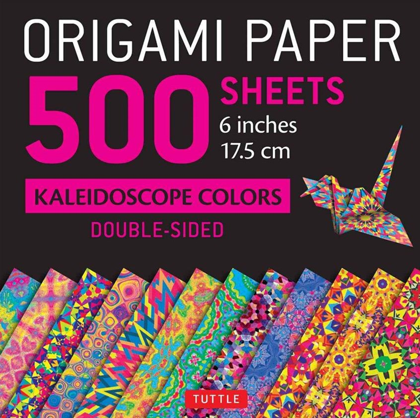 Origami Paper 500 Sheets Kaleidoscope Patterns 6&quote; (15 CM)