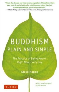 Buddhism Plain and Simple by Steve Hagen (9780804851183) - PaperBack - Philosophy Modern