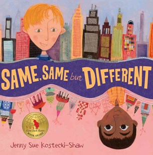 Same, Same but Different by Jenny Sue Kostecki-Shaw (9780805089462) - HardCover - Children's Fiction Intermediate (5-7)