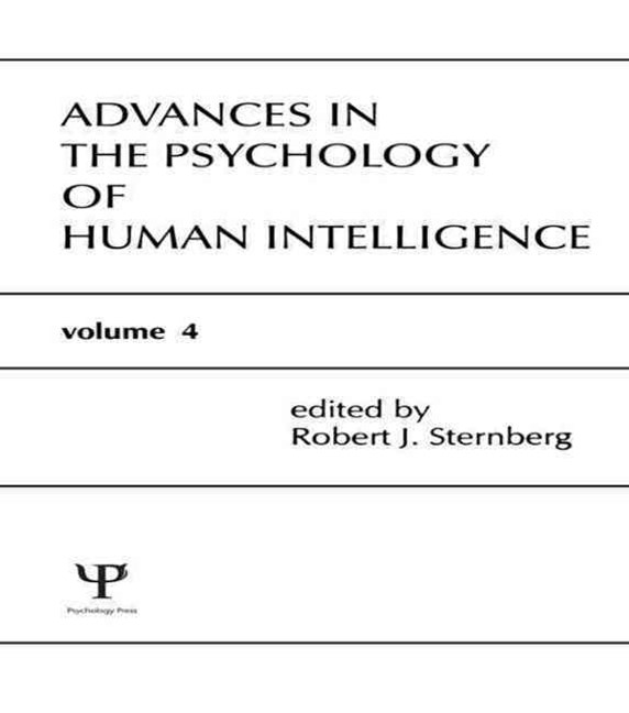 Advances in the Psychology of Human Intelligence