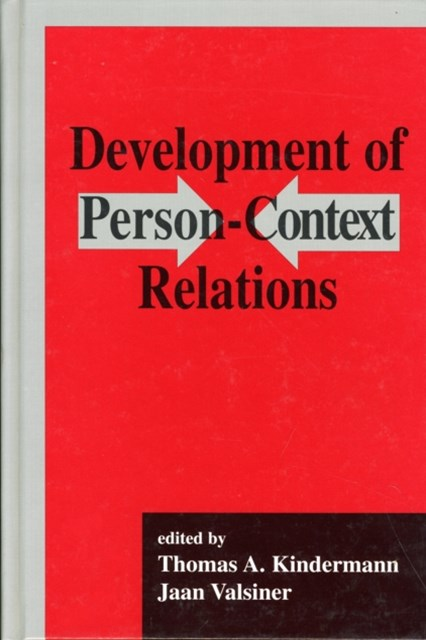 Development of Person/Context Relations