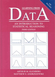 Learning from Data by Arthur M. Glenberg, Matthew Andrzejewski, Arthur M. Glenberg, Matthew Andrzejewski (9780805849219) - HardCover - Education Teaching Guides