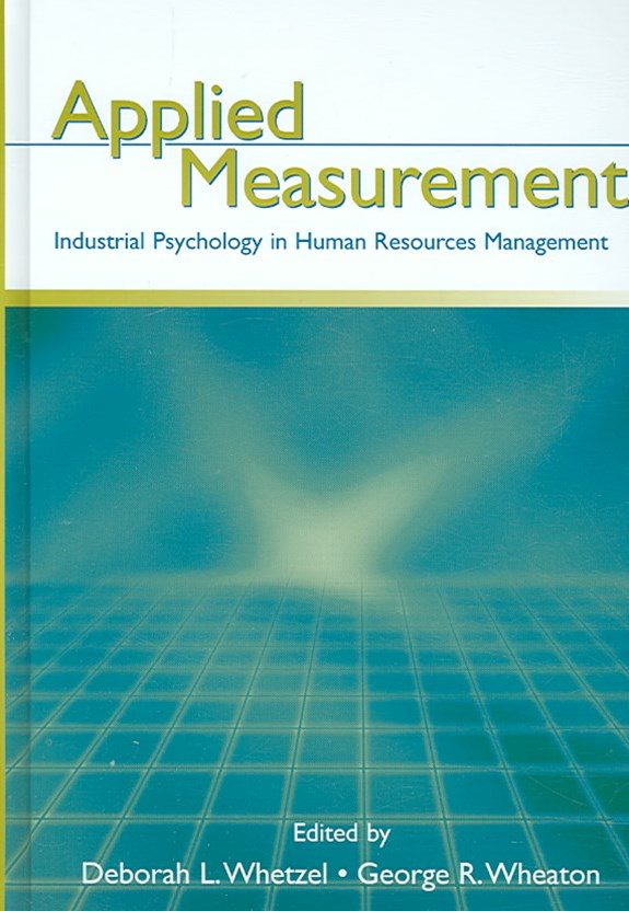 Applied Measurement