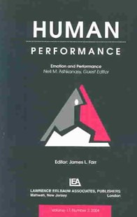 Emotion and Performance by Neal M. Ashkanasy (9780805895469) - PaperBack - Science & Technology Engineering