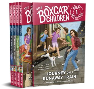 The Boxcar Children Great Adventure 5-Book Set by Gertrude Chandler Warner, Anthony VanArsdale, Gertrude Chandler Warner (9780807506936) - PaperBack - Children's Fiction Intermediate (5-7)