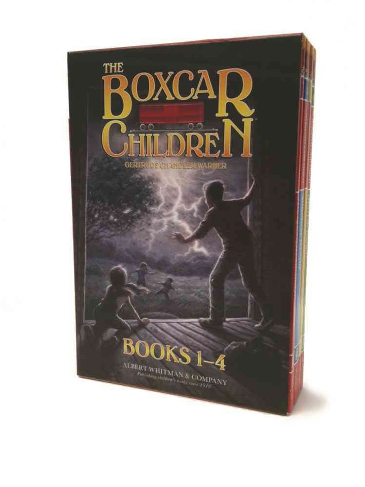The Boxcar Children; Surprise Island; the Yellow House Mystery; Mystery Ranch