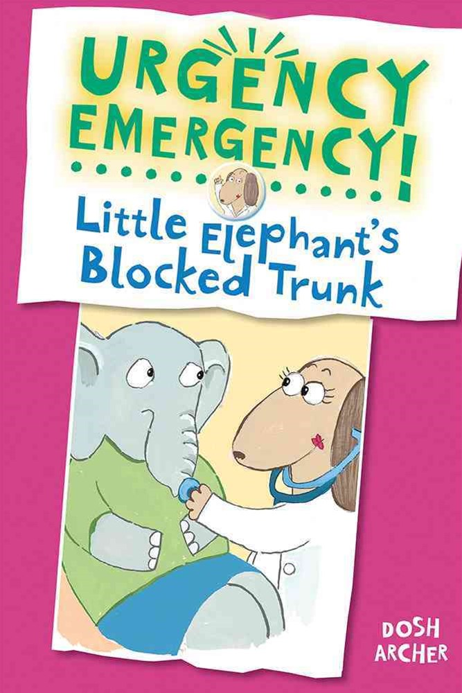 Little Elephant's Blocked Trunk