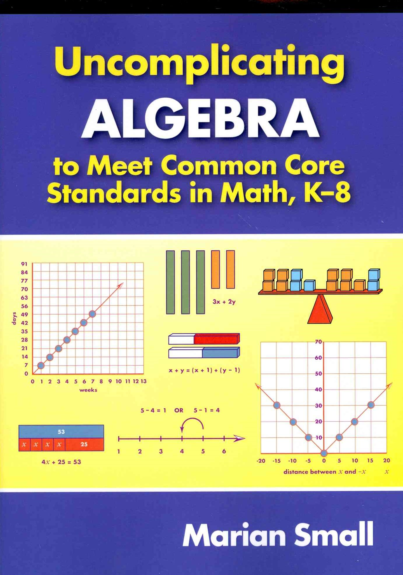 Uncomplicating Algebra to Meet Common Core Standards in Math, K-8