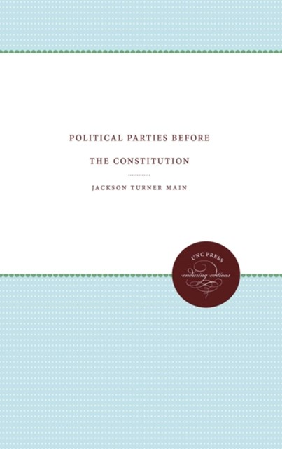 (ebook) Political Parties before the Constitution