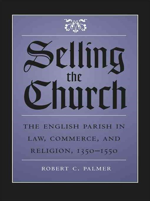 (ebook) Selling the Church