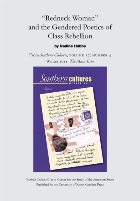 (ebook) &quote;Redneck Woman&quote; and the Gendered Poetics of Class Rebellion