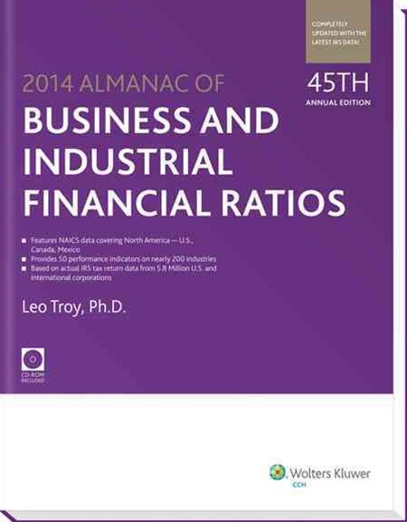 Almanac of Business and Industrial Financial Ratios (2014)