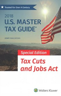 U.s. Master Tax Guide 2018 by Cch Tax Law (9780808049777) - PaperBack - Business & Finance Accounting