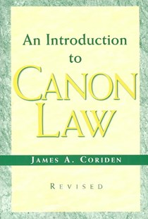 Introduction to Canon Law by James A. CoridenJCD JD (9780809142569) - PaperBack - Reference Law