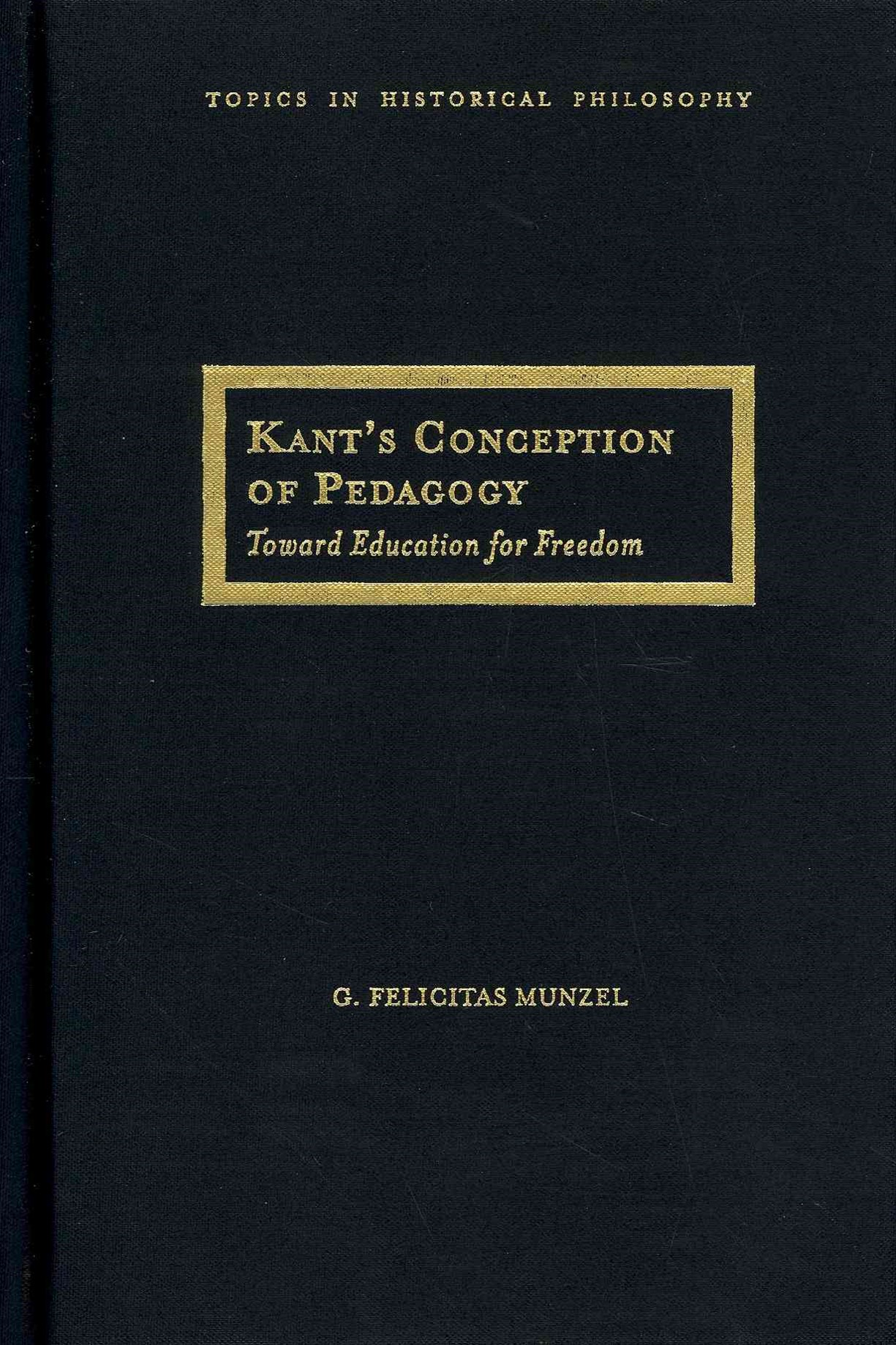 Kant's Conception of Pedagogy