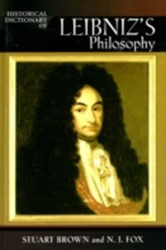 Historical Dictionary of Leibniz