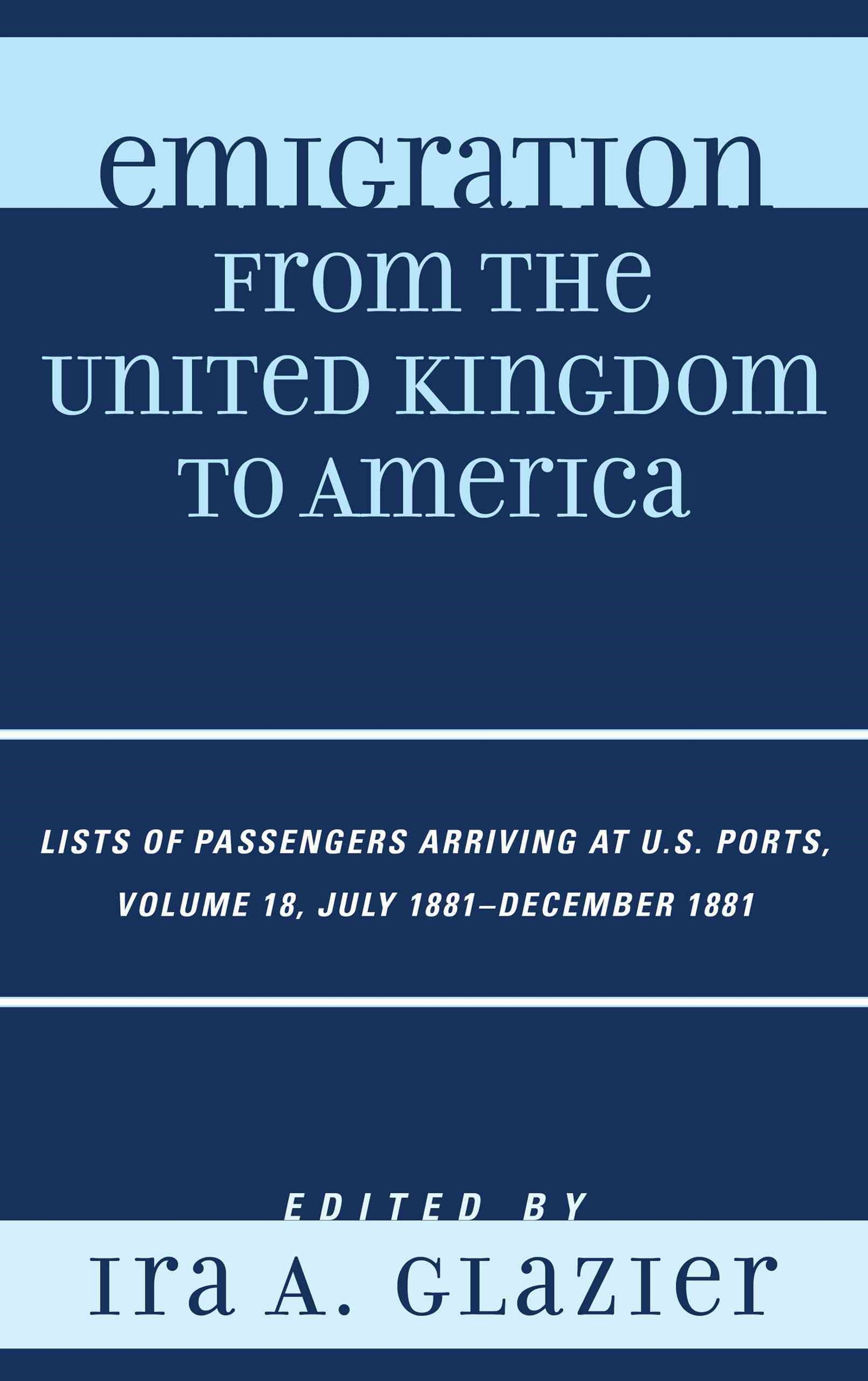 Emigration from the United Kingdom to America