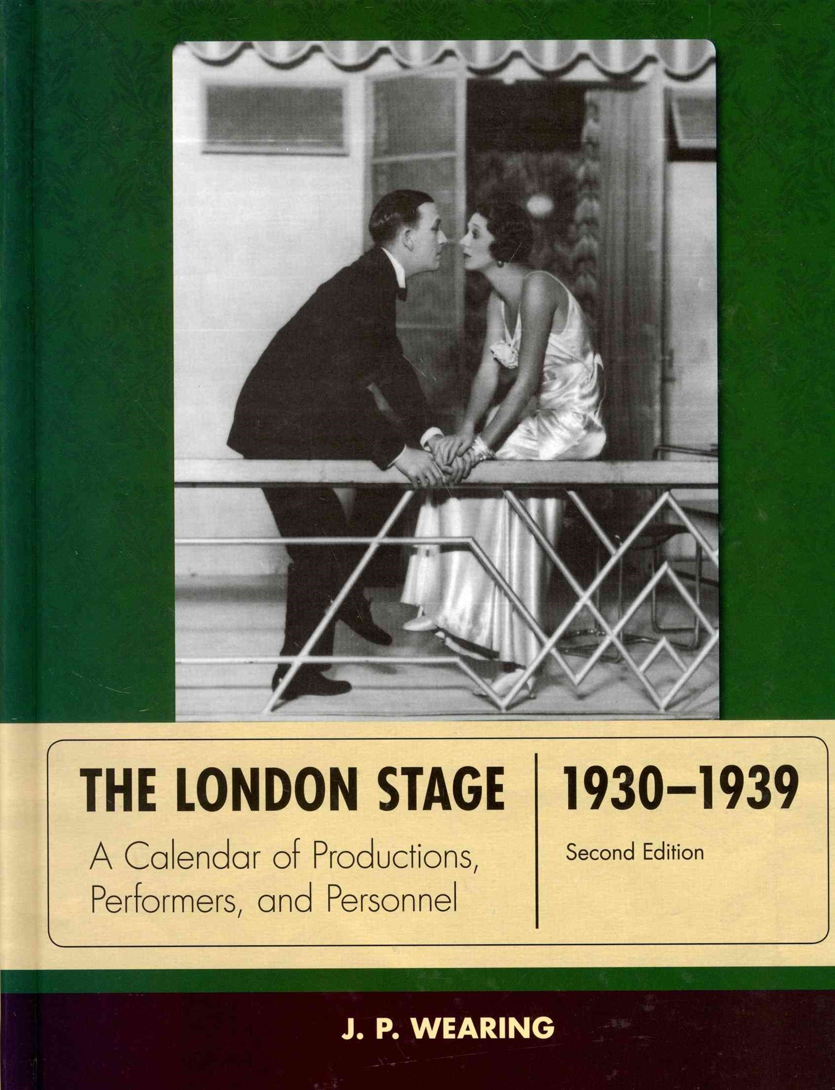 The London Stage, 1930-1939