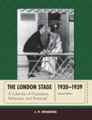 London Stage 1930-1939
