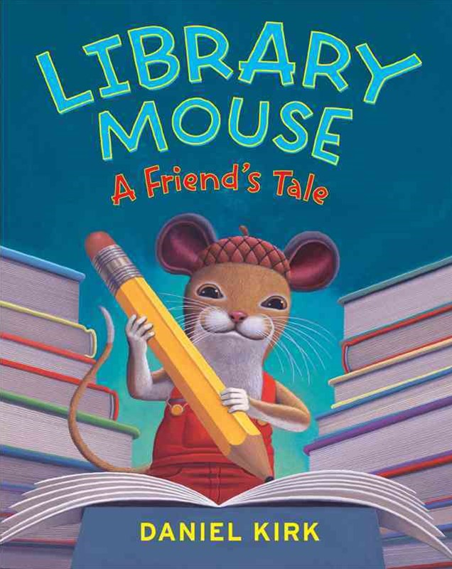 Library Mouse - A Friend's Tale