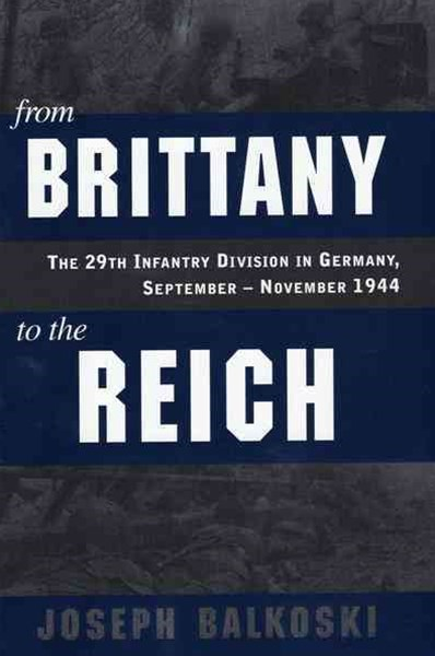 From Brittany to the Reich