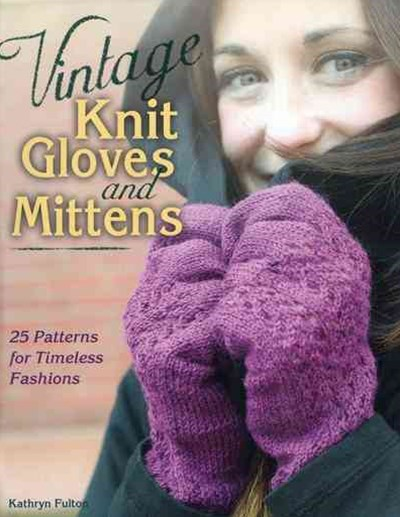 Vintage Knit Gloves and Mittens