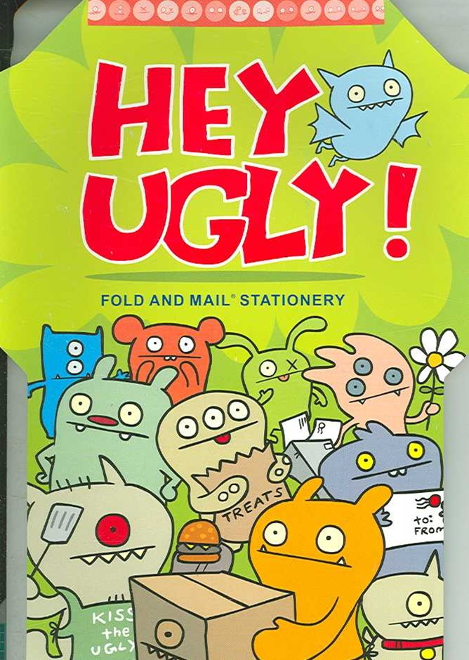 Hey Ugly! Fold and Mail Stationery