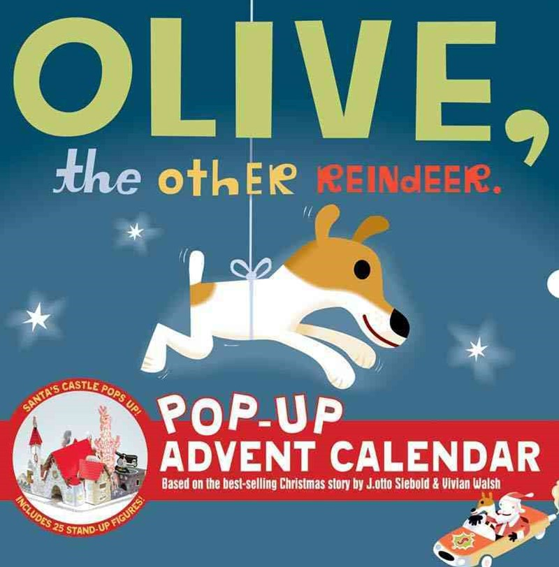 Olive the Other Reindeer Pop Up Advent Calendar