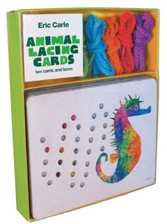 Eric Carle Animal Lacing Cards Chronicle Books