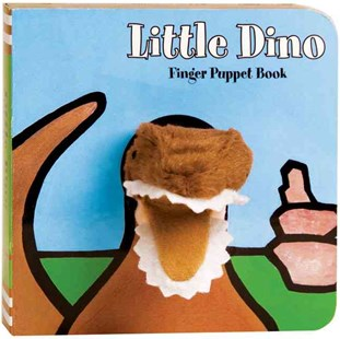 Little Dinosaur Finger Puppet Book by Imagebook (9780811863537) - HardCover - Children's Fiction Early Readers (0-4)