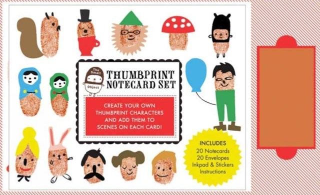 Small Object Thumbprint Notecard