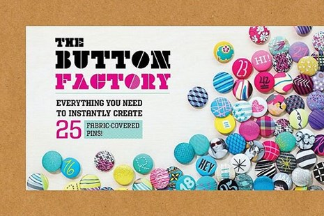 Button Factory by Chronicle Books Llc, Thuss Farell (9780811877855) - HardCover - Craft & Hobbies Needlework