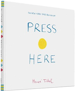 Press Here by Herve Tullet (9780811879545) - HardCover - Children's Fiction Intermediate (5-7)