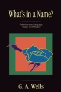 (ebook) What's in a Name? - Philosophy Modern