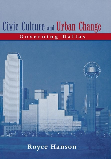 Civic Culture and Urban Change