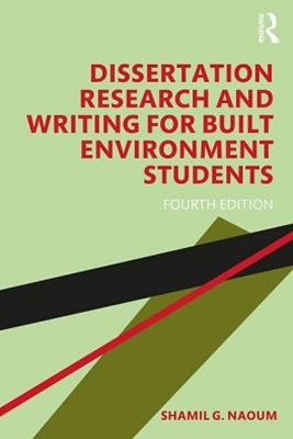 Dissertation Research and Writing for Built Environment Students